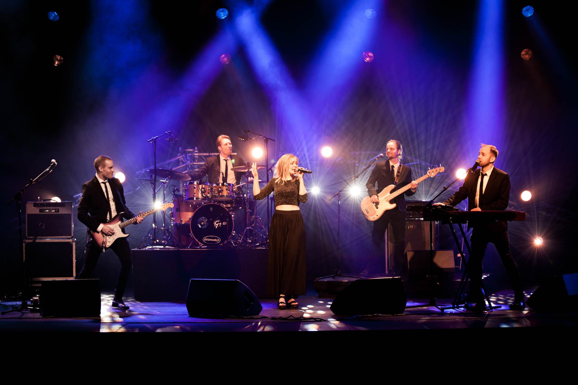 Musik til fest på Sjælland, Fyn og i Jylland